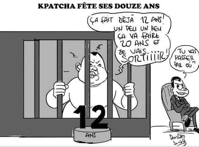 kpatcha Gnassingbe prison 12 ans