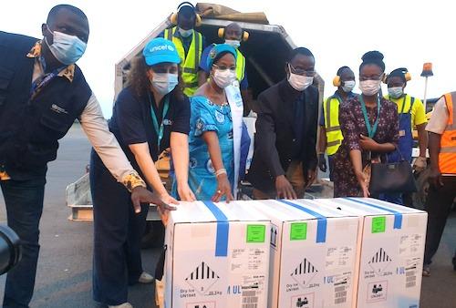 Le Togo a reçu 50 000 doses du vaccin Pfizer