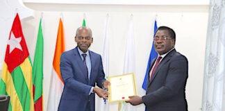 Julius Adebowale Adesina, nouvel ambassadeur du Nigéria au Togo
