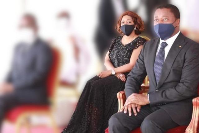 Couple Reckya Madougou - Faure Gnassingbe