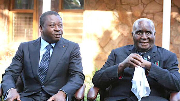 Le Togo salue la mémoire de Kenneth Kaunda, premier président de la Zambie