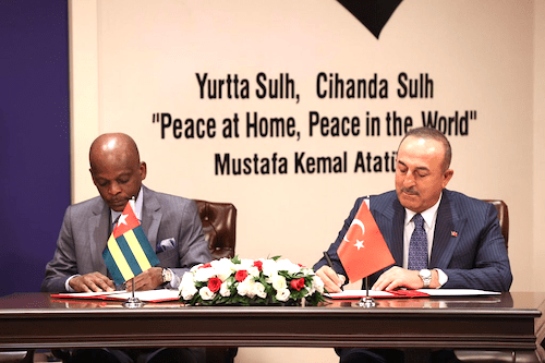 50821 togo et la turquie signent plusieurs accords bilatraux ocb
