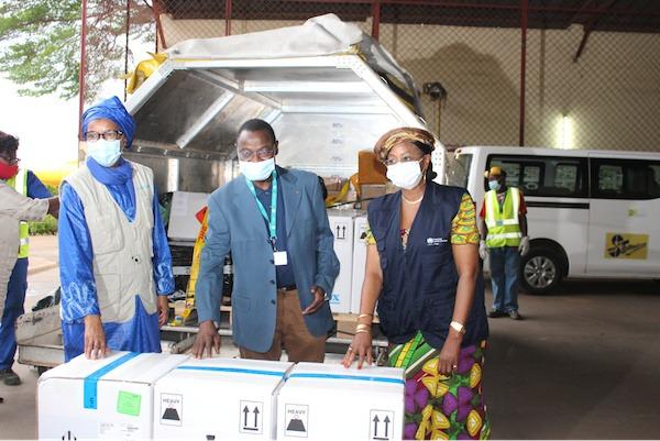 Le Togo reçoit 50 000 nouvelles doses de Pfizer