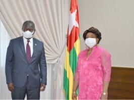 Le nouveau président de la Commission de l'Uemoa reçu au Togo