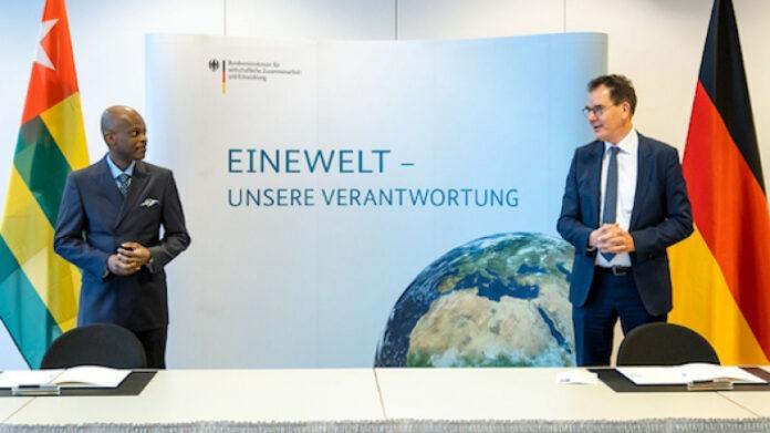 Le ministre allemand de la coopération en visite officielle au Togo