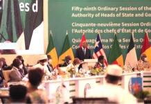 Le Chef de l'Etat a pris part au 59ème sommet de la Cedeao