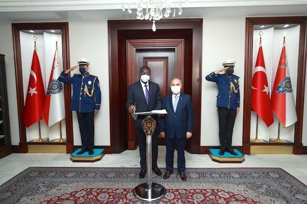 Sécurité : le Togo et la Turquie explorent des possibilités de collaboration