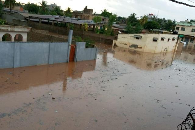 Inondation à Lomé