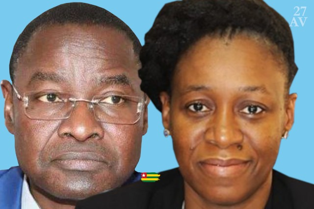 les ministres togolais de la sante moustafa wijiyawa et Mamessilé Agba-Assih