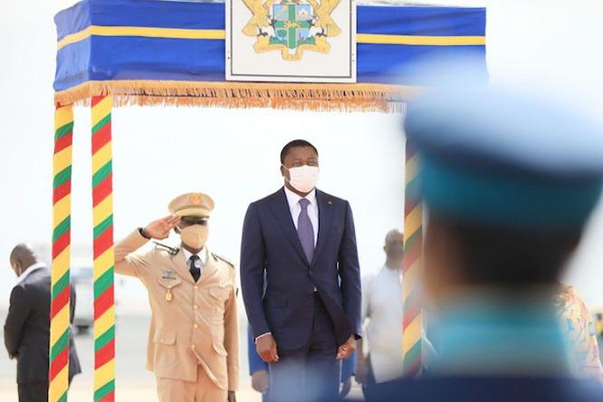 Le Chef de l'Etat à Accra, pour le dévoilement de la statue du Champion de la Zlecaf