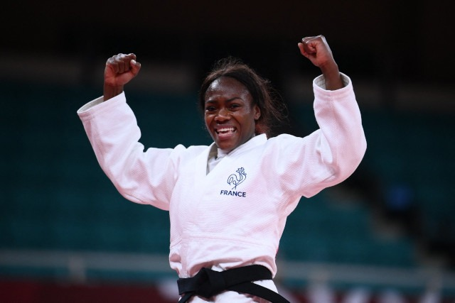 Clarisse Agbegnenou championne olympique judo - 63kg