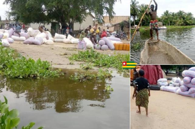 Contrebande de gari togolais traversant les pays voisins