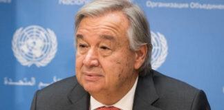 UN SG Antonio Guterres