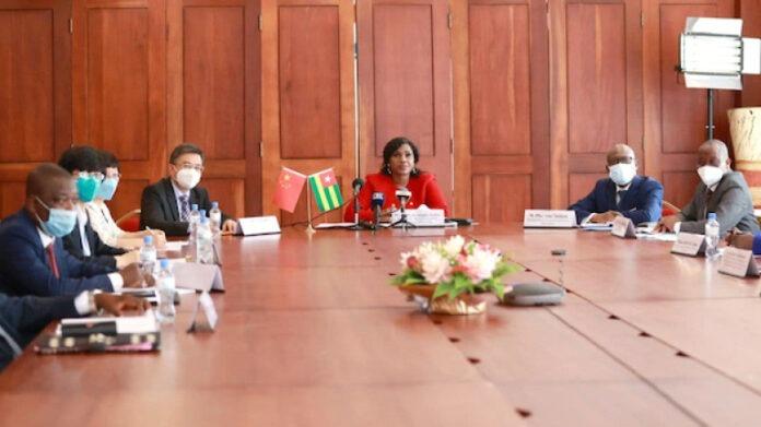 Le Togo et la Chine vont renforcer leur partenariat économique