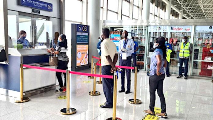 Aéroport de Lomé/plateforme de voyage : le Gouvernement rassure et recommande