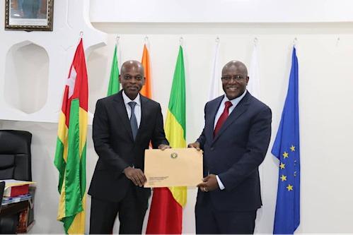 Barros Bacar Banjai, nouveau représentant de la Cedeao au Togo