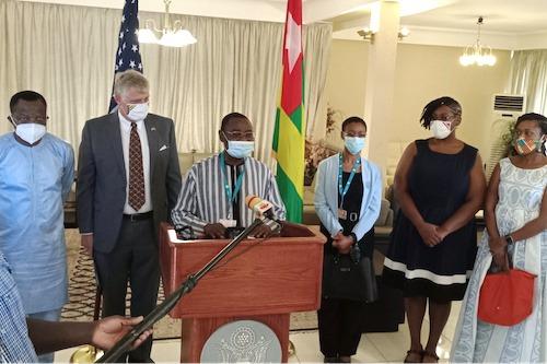 Le Togo bénéficie d'environ 200 000 doses de Pfizer offerts par les USA