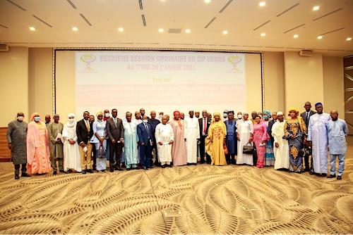 Les parlementaires de l'Uemoa en réunion à Lomé