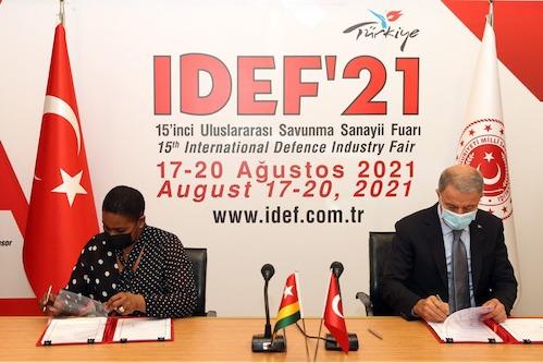 Le Togo et la Turquie liés par un accord-cadre de coopération militaire