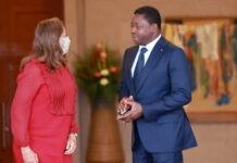 Le Chef de l'Etat a reçu la Commissaire de l'UA en charge des infrastructures et de l'énergie