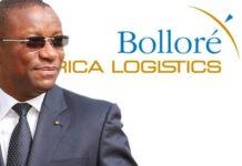 charles gafan DG bollore africa logistics
