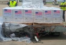 Le Togo reçoit 117 000 nouvelles doses de Pfizer
