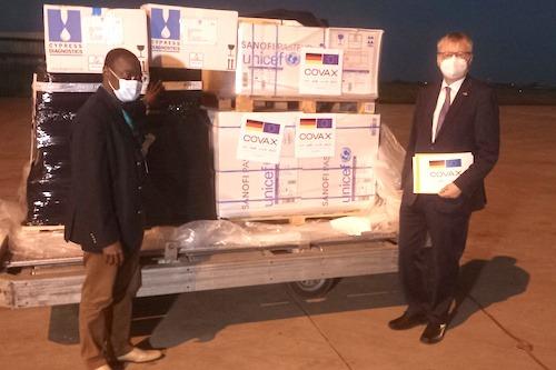 Le Togo bénéficie de 100 000 doses d'AstraZeneca offerts par l'Allemagne