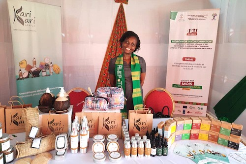 Les produits locaux togolais en expo à Ouagadougou