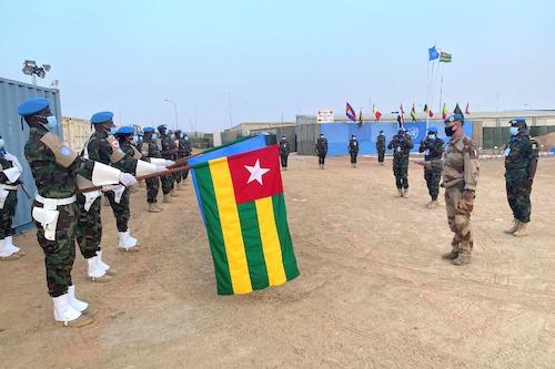 Les casques bleus togolais de nouveau honorés au Mali