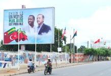 Recep Tayyip Erdogan est arrivé au Togo