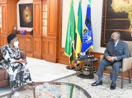 A Libreville, la Premier ministre reçue par Ali Bongo