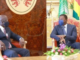 Entretien à Lomé entre Faure Gnassingbé et George Weah