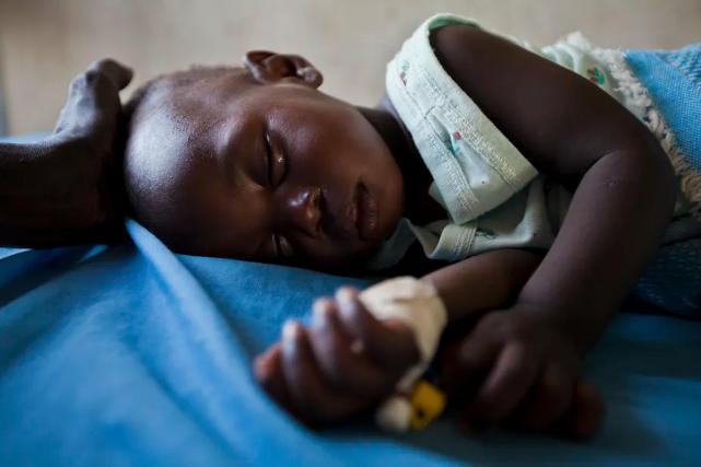 enfant malade de palu soudan