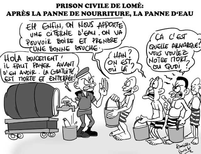 prison civile de lome togo